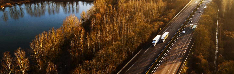 Les autoroutes sanef et sapn en automne
