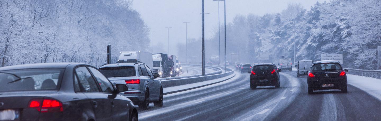 C'est l'hiver sur les autoroutes Sanef et Sapn